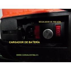Sulfatadora funcionamiento a Batería 16 litros