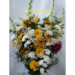 Ramo de flores de funeral  RF.: RF26