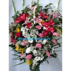Ramo de flores de funeral  RF.: RF28