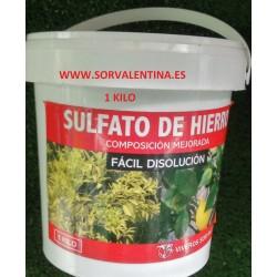 Sulfato ferroso formato 1 kilo