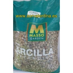Arcilla expandida  5 litros de Masso.