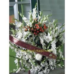 Corona de flores  naturales nº 10