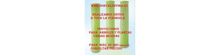 Protectores ecológicos para plantas, protectores para viña,  protector  para olivos, protector para árboles frutales,